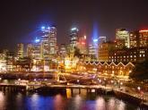 Pusat kota Sydney Australia